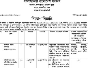 Bureau Manpower Employment Training jobs Circular 2019