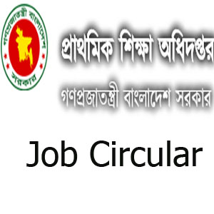 Directorate Of Primary Education Job Circular 2019 dpe.gov.bd