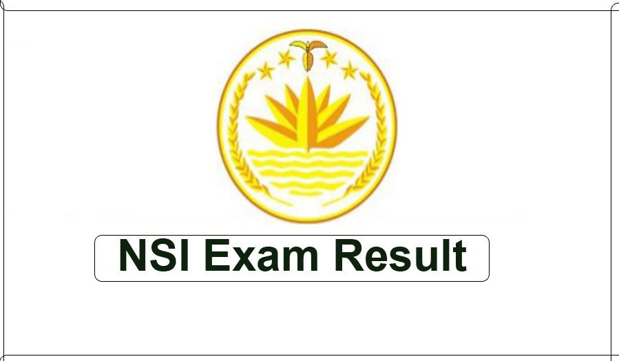 NSI Exam Result 2019