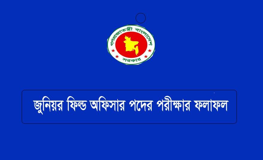 NSI Junior Field Officer Exam Result